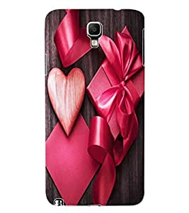ColourCraft Love Design Back Case Cover for SAMSUNG GALAXY NOTE 3 NEO N7505