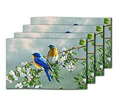 meSleep Birds Pair Table Mats