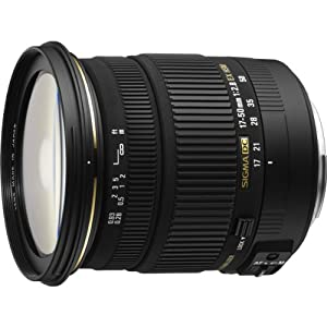 Sigma 17-50mm f/2.8 EX DC OS HSM FLD Large Aperture Standard Zoom Lens for Canon Digital DSLR Camera