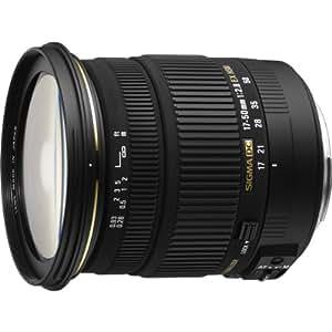 Sigma 17-50mm F2,8 EX DC OS HSM Objektiv (77mm Filtergewinde) für Pentax