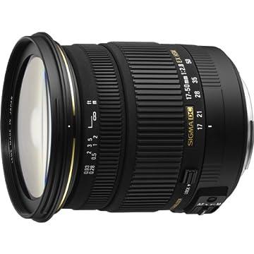 SIGMA 標準ズームレンズ 17-50mm F2.8 EX DC OS HSM ニコン用 APS-C専用