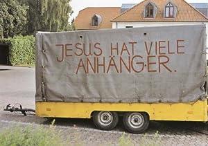 Lustige Postkarte - Jesus hat viele Anhänger
