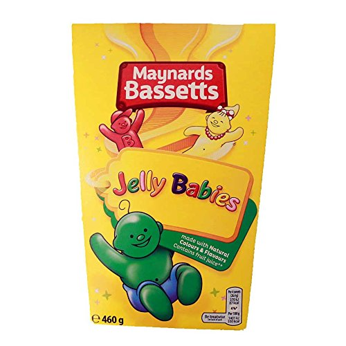 Bassetts Jelly Babies Carton (460g / 16.2oz) (British Jelly compare prices)