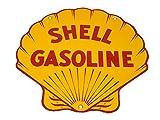 Corvette Decor: Shell Gas Porcelain Sign