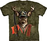 Hunter Buck Deer Adult T-Shirt The Mountain