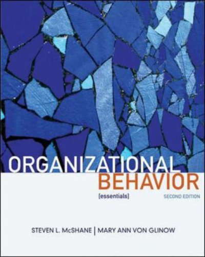 Organizational Behavior: Essentials