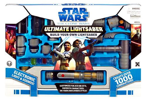 star wars clone wars ultimate lightsaber build your own