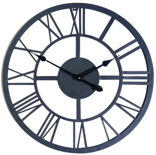 Gardman 8450 Giant Roman Numeral Wall Clock, 21.5 Long x 21.5 Wide