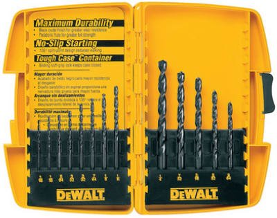 Dewalt Accessories DW1163 13-Piece Black Oxide Drill Bit Set
