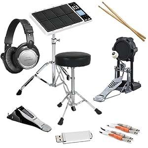 roland octapad spd 30 bundle w kick hi hat triggers drum throne musical. Black Bedroom Furniture Sets. Home Design Ideas