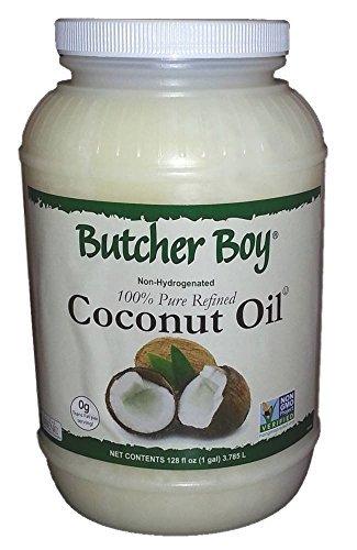 Butcher Boy 76°f 100% Pure Refined Coconut Oil 1 Gallon (Hydrogenated Oil compare prices)