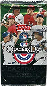 2014 Topps Opening Day Baseball Card Pack 0f 7