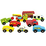 Bigjigs Road Vehicle Pack