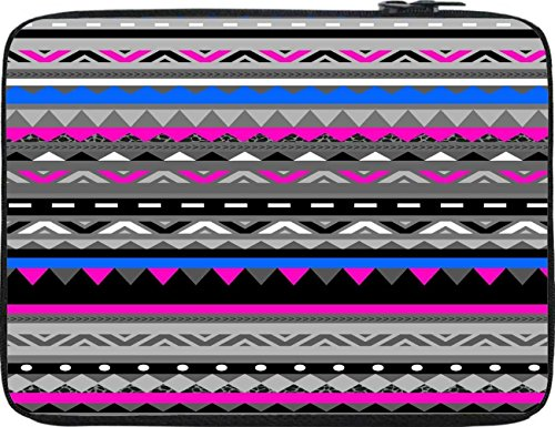 Snoogg AZTEC DIGITAL PATTERN 12 To 12.6 Inch Laptop Netbook Notebook Slipcase Sleeve