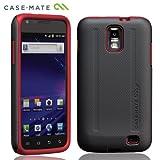 Case-Mate docomo GALAXY S II LTE SC-03D Hybrid Tough Case, Black/Redドコモ ギャラクシー S II LTE 専用 ハイブリッド タフ ケース, ブラック / レッド CM017380