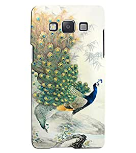 Citydreamz Peacock\Jungle Hard Polycarbonate Designer Back Case Cover For Samsung Galaxy J2