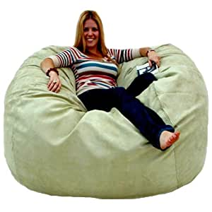 Amazon Com Cozy Sack 5 Feet Bean Bag Chair Large Sage