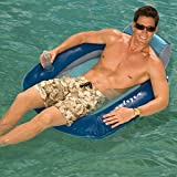 Kelsyus Floating Pool Lounger Inflatable Chair - Blue (Set of 2) | 80035