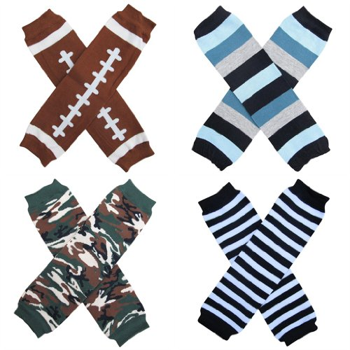 Leg Warmers 4-Pack - One Size - Baby, Toddler, Little Kid - Boy Favorites front-724890