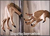 Halloween Haunted House Creepy Hand Wall Hanger Grabbing Clawing Life-sized -Set fo 2
