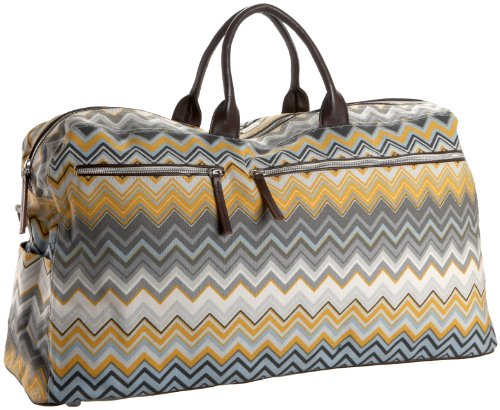 Saltbox Zigzag Large Travel Bag