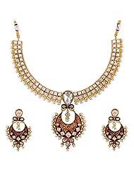 Bhagwathi Antique Necklace Set (BGPS008)