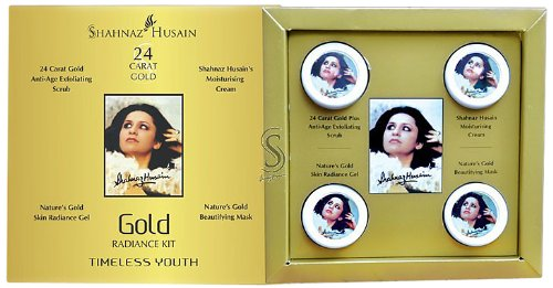Shahnaz Husain 24 Carat Gold Skin Radiance Tieless Youth (Free Shipping)