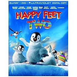 Happy Feet Two (Blu-ray/DVD Combo + UltraViolet Digital Copy)