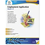 Adams Application for Employment Forms, 8.5 x 11 Inch, 50-Pack, White (HR104)