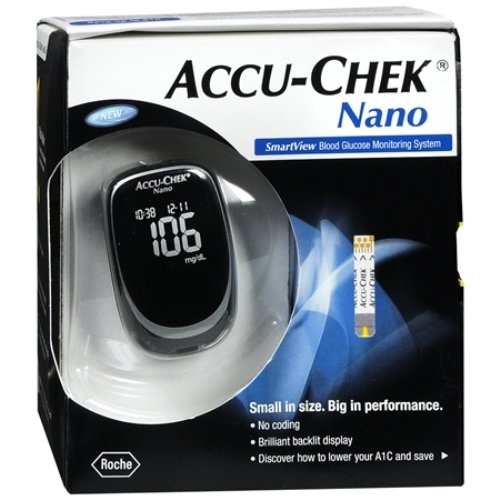 Accu-Check Nano Smart View Blood Glucose Monitoring System