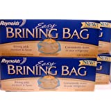 Reynolds Easy Brining Bag, For Turkeys 8-24 lbs. (4 Bags)