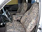 Durafit Seat Covers F286-CL-V - Ford Ranger XLT Pickup 60/40 Bench Seat Custom Seat Covers With Opening Console, Conceal Camo Automotive Velor