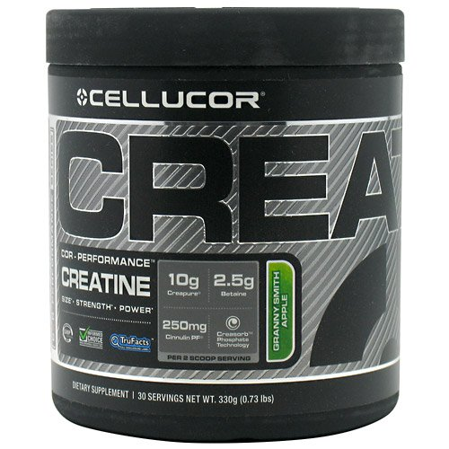 30 Servings Granny Smith Apple Creatine By Cellucor Creatine Supplements