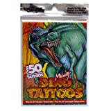 Mighty Dino Party Pack, Over 50 Temporary Tattoos