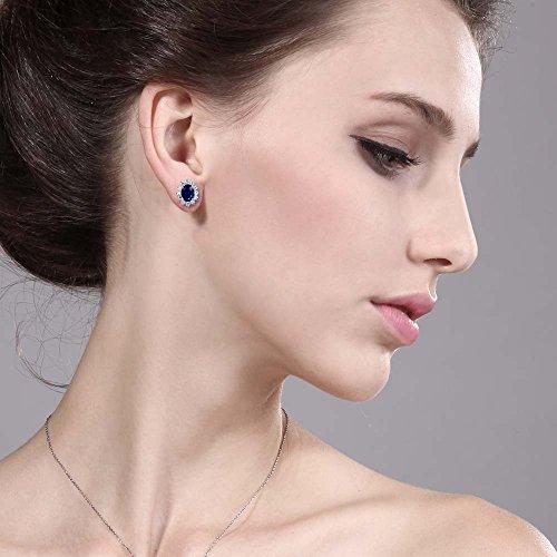 stud earring in ear