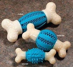 Nylabone Double Action Dental Chew Round Ball