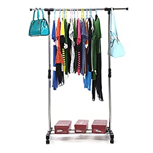 Aojia barra para colgar ropa barras para colgar la ropa - Percheros para colgar ropa ...
