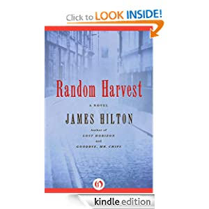 Kindle Daily Deal: Random Harvest, by James Hilton. Publisher: Open Road (May 1, 2012)