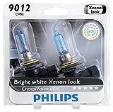 Philips 9012CVB2 CrystalVision Ultra Upgrade Headlight Bulb...