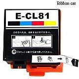 エプソン ICCL81(4色カラー) 互換インク 対応機種 PF-70 PF-71 PF-81 リボンキャットオリジナル JAN:4573247400545