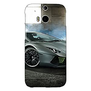 Jugaaduu Super Car Lamborghini Back Cover Case For HTC One M8 Eye