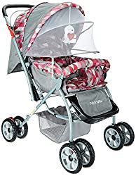Tiffy & Toffee Baby Stroller Maxtrem (Gray/Orchid)