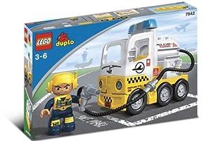 Lego Preschool Duplo Jet Fuel Truck (7842)