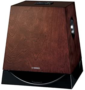Yamaha NS-SW700BR 10-Inch 300-Watt Subwoofer with Advanced YST II and QD-Bass Technology - Each (Brown)