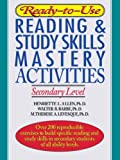 img - for Ready-to-Use Reading & Study Skills Mastery Activities: Secondary Level book / textbook / text book