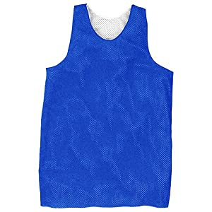 Rawlings RMJ-R-88 Reversible Basketball Practice Jersey Royal Blue Small