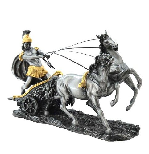 unicorn-studios-wu72011a8-pewter-gold-chariot-roman-sculpture