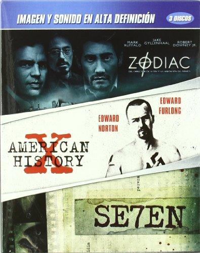 Seven + Zodiac + American History X [Blu-ray]