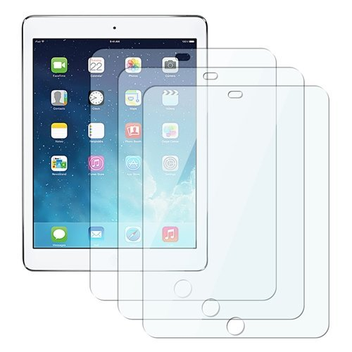 eTECH Collection 3 Pack of Clear Screen Protector for Apple iPad Air / iPad Air 2 (fits both iPad Air and iPad Air 2nd Generation) with Retina Displ