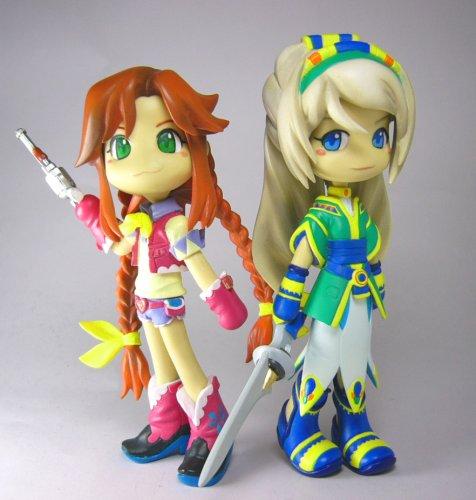 GSI Creos Pinky ST Wild Arms the Vth Vanguard Set Rebecca and Avril Action Figure - 1